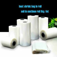 1kg 5/6/7/~ 32cm Widths Pvc Heat Shrink Wrap Tube In Roll Packaging DIY Cut