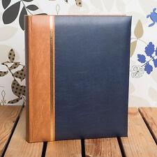 Classic A4 bleu album photo-détient 100 tirages A4 * idéal pour portefeuilles *