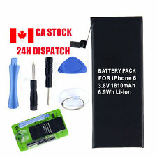 "1810mAh Li-ion Battery Replacement +Tools With Flex Cable For iPhone 6 4.7"" CA"