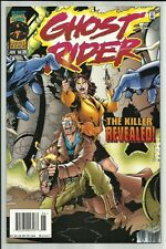 GHOST RIDER #74 1996 SALVADOR LARROCA COVER & ART! VENGEANCE APP! HIGH GRADE! NM