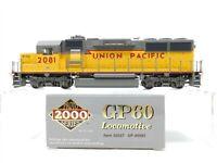 HO Scale Proto 2000 30557 UP Union Pacific GP60 Diesel Locomotive 2081 DCC Ready