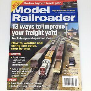 Model Railroader Magazine June 2010 13 Ways to Improve Freight Yard Track Design