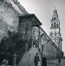 ESPAGNE c.1950 -Chapelle Extérieure La Mezquita Tour Alminar Cordoue- Div 10268