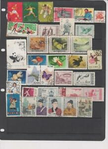 2172 China PRC stock page 34 stamps mixed condition