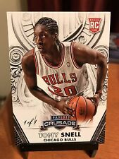 2013-14 Panini Crusade TONY SNELL Black Parallel 1/1 RC (One Of One) Bulls/Bucks