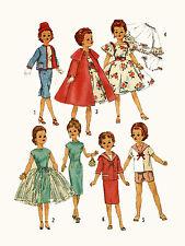 "Miss Revlon Sweet Sue Dollikin Toni by Ideal 21"" Doll Clothing PATTERN 3252"