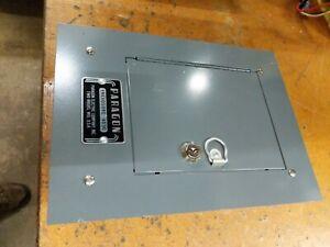 surface mount metal cabinet box paragon 4030 Timer Enclosure locking 6 x 5 x 4