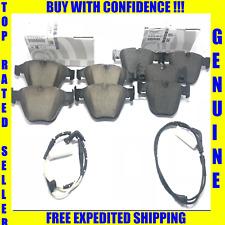 BMW Front & Rear Brake Pad Sets & Sensors 530 545 745 750 645 650 X1 Z4 GENUINE