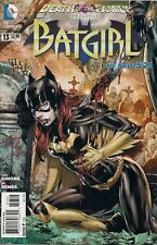 BATGIRL #13 variant 2nd print DEATH of the FAMILY prologue DC NEW 52 GAIL SIMONE