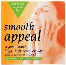 Smooth Appeal Original Formula Facial Face Hair Removal Wax Waxing Kit Aloe