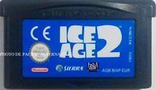 jeu L'AGE DE GLACE 2 sur nintendo game boy advance spiel juego ice sierra gioco