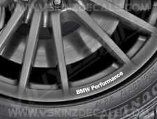 8x BMW Performance Logo Premium Cast Wheel Rim Decals Stickers Alpina M3 M4 M5 i