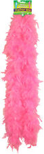 BURLESQUE SOFT FEATHER BOA SHOWGIRL DANCE FANCY DRESS HEN NIGHT RED BLACK WHITE