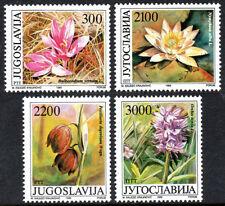 Yugoslavia 1953-1956, MNH. Flowering Plants, 1989
