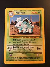 Carte Pokemon NIDORINA 40/64 Jungle Wizard Neuve Française