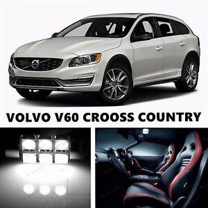 16pcs LED Xenon Whit Light Interior Package Kit for VOLVO V60 - V60 CRSS COUNTRY