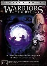Warriors Of Virtue -GENUINE REGION 4 DVD RARE OOP AS NEW FOREVER YOUNG FANTASY