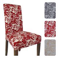 2 COPRISEDIA vesti sedia 2 fodere per sedia millerighe elasticizzato Flower