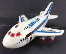 """VTG 1988 Cheng Ching Toys 16"""" Jumbo Jet 747 Air Plane Battery For Parts Repair"""