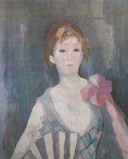 MARIE LAURENCIN (1883 -1956 Paris) Bibliothèque Valery Larbaud, Vichy 1989