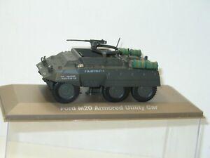 Atlas Military Tank M20 Ford Armored Utility Car 1:43