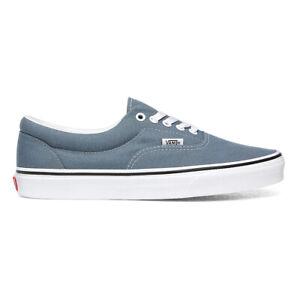 Vans Era Shoes Canvas Plimsolls Trainers Blue Mirage/True White VN0A4U39X17