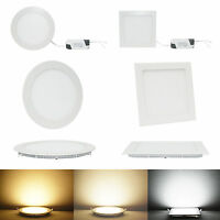 6W/9W/12W/15W/18W/21W Dimmable CREE LED Recessed Ceiling Panel Down Lights YA9C