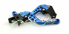 Blue adjustable levers for CBR250RR CBR250R Hornet #LV004#