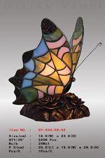 Tiffany Schmetterling ,Tiffanylampe, Tiffany Lampe, Tier blau grün gelb , S7 neu