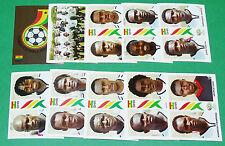 PANINI FOOTBALL GERMANY 2006 GHANA WM COMPLET FIFA WORLD CUP
