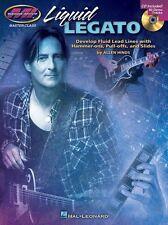 MI Master Class Liquid Legato Lesson Learn to Play Guitar Music Book & CD