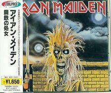 Iron Maiden - Iron Maiden Japan TOCP-3002 OBI 1995