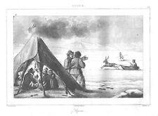RUSSLAND - LAPPEN - RENTIER - STAHLSTICH - 1838
