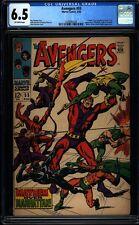 Avengers 55 CGC 6.5 Silver Age Marvel Key Comic 1st Ultron IGKC L@@K