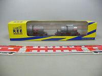 AI45-0,5# Ree Spur N/DC NW-003 Set Güter-/Kesselwagen Ermewa SNCF, NEUW+OVP