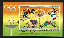 Hong Kong 1992 Olympic Games M.S.SG722 MNH