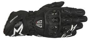 Alpinestars GP Pro R2 Racing Dupont Kevlar Motorcycle Gloves - Black