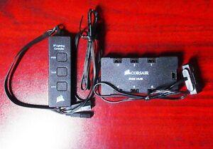 CORSAIR SP Lighting Controller & 6-Port RGB Fan Hub CO-8950020 & CO-8950021 iCUE