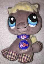"2007 Very Littlest Pet Shop VIP 8"" Horse Plush Toy Stuffed With Original Tag"