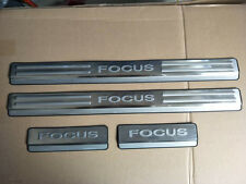 Stainless Steel Door Sill Scuff Plate Protector for 2009-2011 Ford Focus