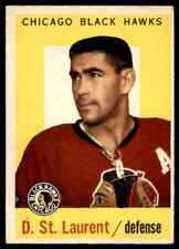 1959-60 TOPPS DOLLAR ST. LAURENT CHICAGO BLACKHAWKS #43 (01) JM