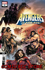 AVENGERS NO ROAD HOME #6 (OF10) (2019) 2ND PRINTING IZAAKSE VARIANT CVR ($4.99)