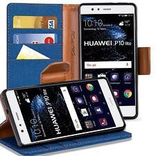 Schutzhülle Huawei P10 Lite Hülle Flip Case Handy Klapphülle Slim Book Cover