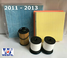 JEEP GRAND CHEROKEE WK 3.0L DIESEL Filter Kit - OIL AIR FUEL CABIN FILTERS 11-13