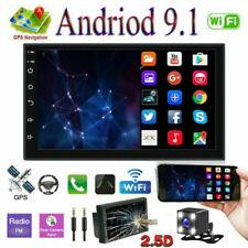 "7"" Android 9.1 Radio de coche 2 Din GPS Navi Autoradio WIFI MP5 BT USB + Cámara"