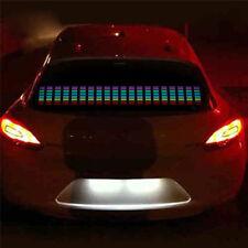Nouvelle voiture 45x11cm autocollant led rythme musique égaliseur décoration lumière flash