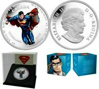 2013 Canada 9999 silver $15 dollars coin Modern Day Superman 75th Anniversary