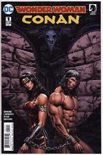 WONDER WOMAN/CONAN #1,2,3,4,5 & 6 DC Comics Vs The Barbarian VARIANT COVERS SET!