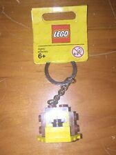 Lego Hedgehog porcupine   KEY CHAIN NEW WITH TAGS  WORKS WITH BRICKS