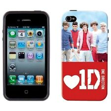1D One Direction Harry Styles Fits iPhone 4 4G 4GS Red Cover Hard Case Gift Offi